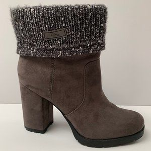 Circus by Sam Edelman Grey Booties Size 8.5
